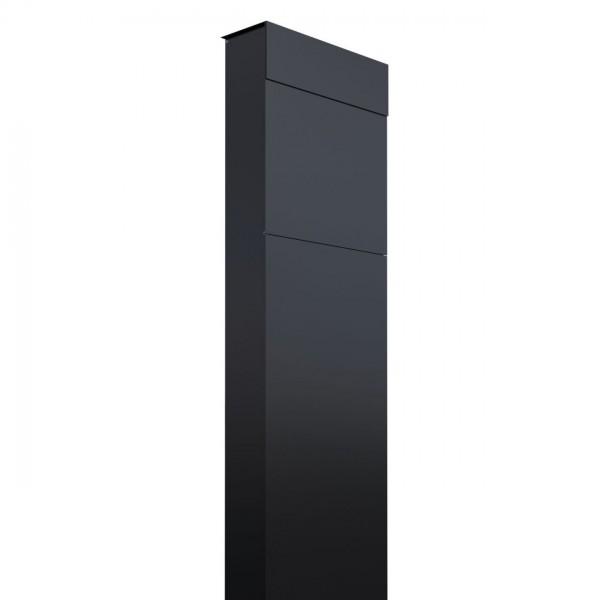 Briefkasten Design Standbriefkasten Schwarz