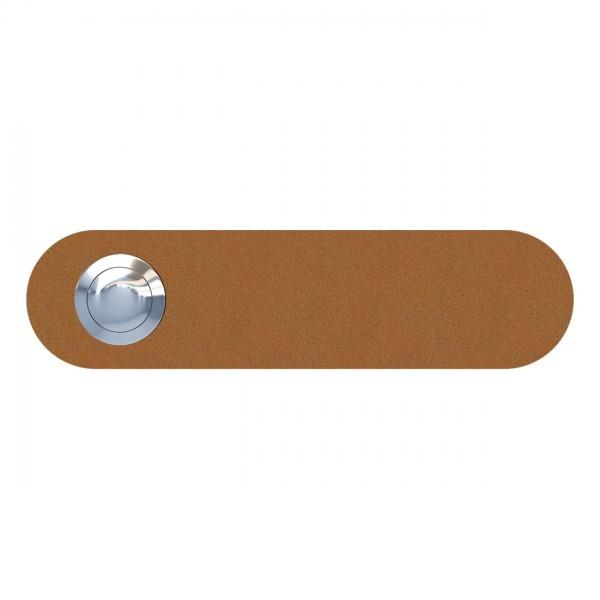 Przycisk dzwonkowy Long Circle rdza