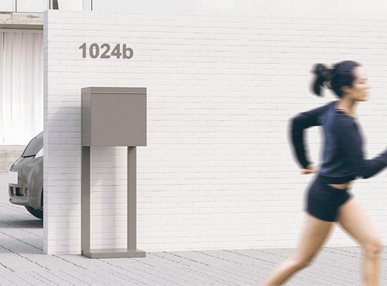 Skrzynki na listy Design Skrzynki wolnostojące Numery na dom Bravios