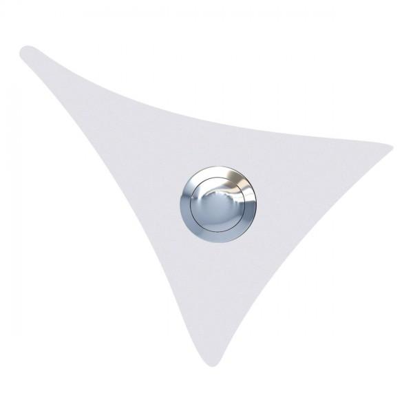 Przycisk dzwonkowy Żagiel biały