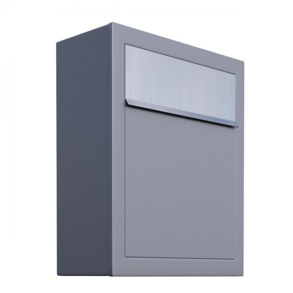 Briefkasten, Design Briefkasten Base Grau