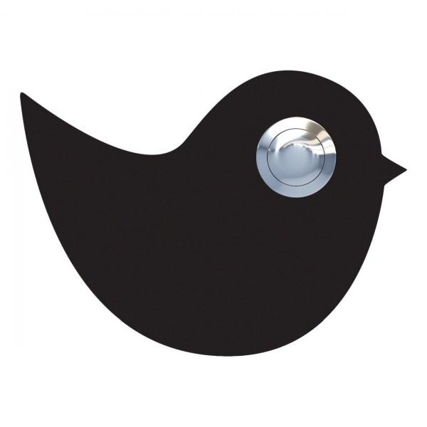 Przycisk dzwonkowy Ptak czarny