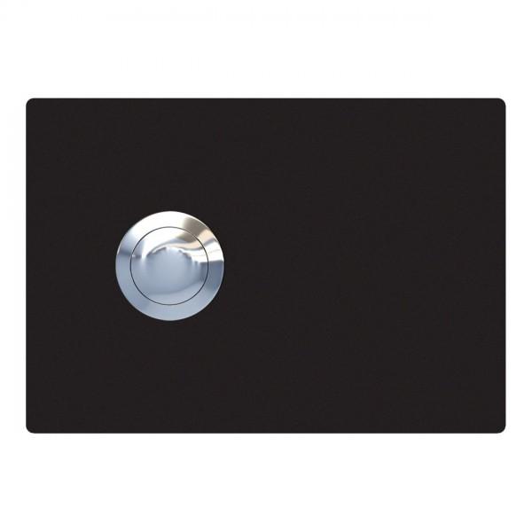 Przycisk dzwonkowy Prostokat czarny