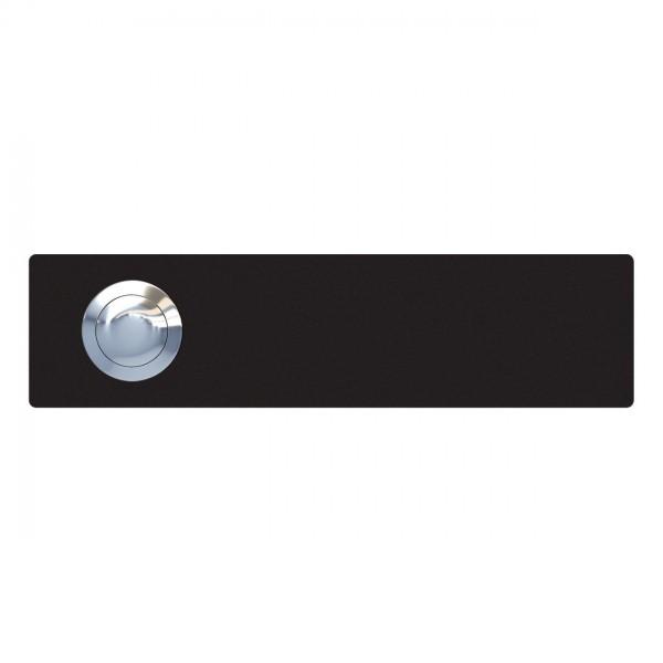 Przycisk dzwonkowy Oblong czarny