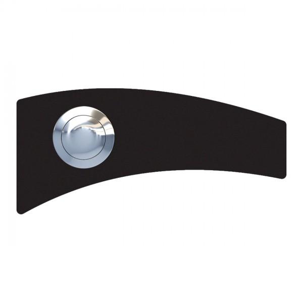 Przycisk dzwonkowy Kwadrat czarny