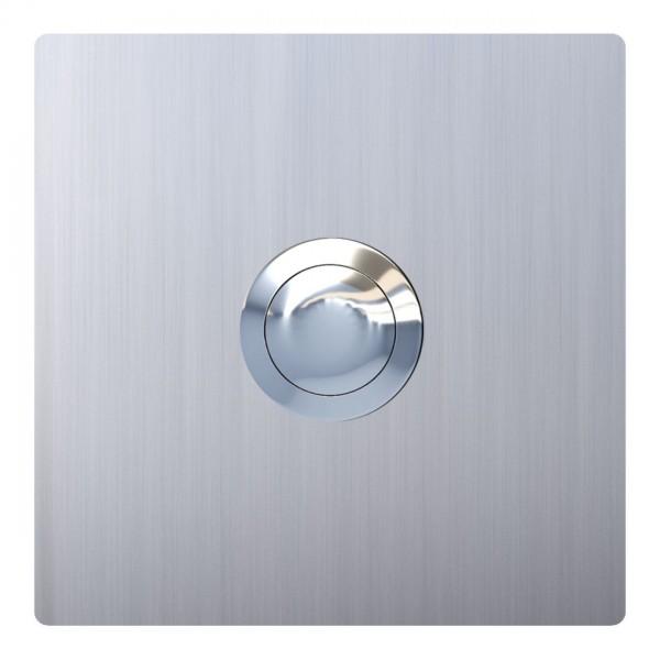Przycisk dzwonkowy kwadrat stal szlachetna