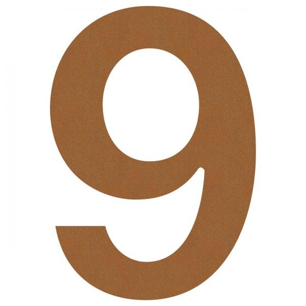 """Numer na dom """"9"""" rdza"""