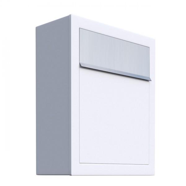 Briefkasten, Design Briefkasten Base Weiß