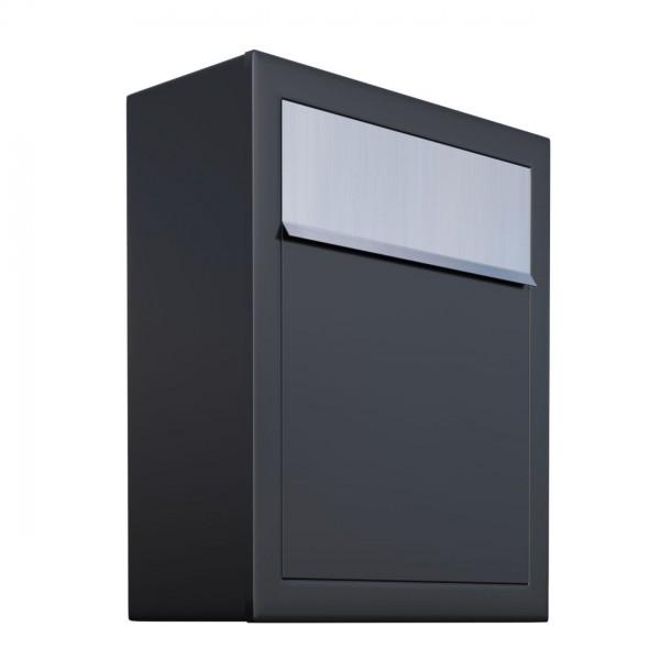 Briefkasten, Design Briefkasten Base Schwarz