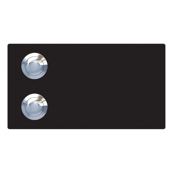 Przycisk dzwonkowy Oblong for two czarna