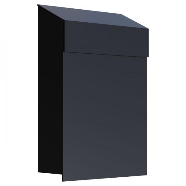 Postkasten Design Wandbriefkasten Schwarz
