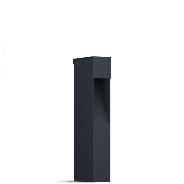 "Lampa ogrodowa ""Nano Focus"" czarna"