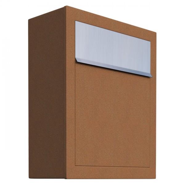 Briefkasten, Design Briefkasten Base Rost