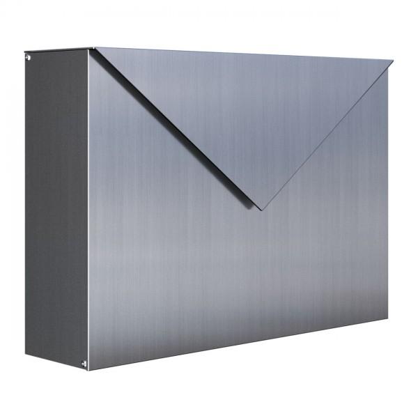 Briefkasten Design Wandbriefkasten Edelstahl