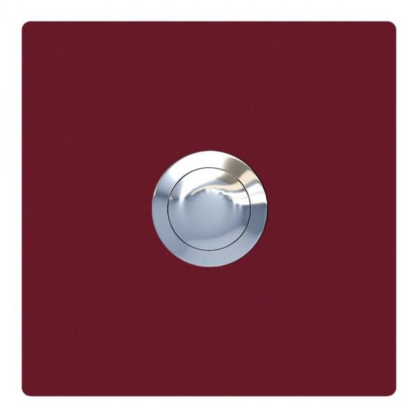 Przycisk dzwonkowy kwadrat czerwony