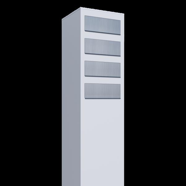 Briefkasten Design Briefkastenanlage Weiß