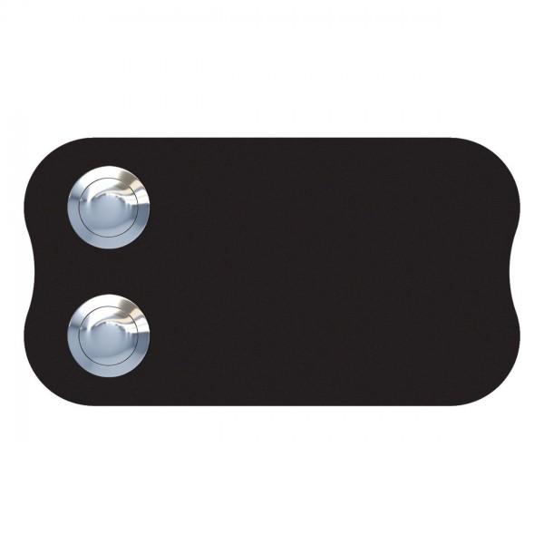 Przycisk dzwonkowy Long Circle for Two czarny