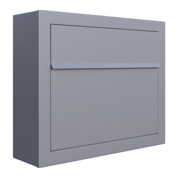 Briefkasten Design Briefkasten Grau